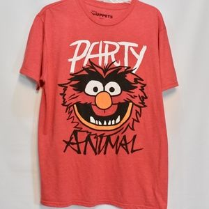 Men's Disney Muppets Party Animal Graphic Tee L
